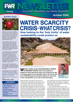 Latest  issue of the FWR Newsletter.