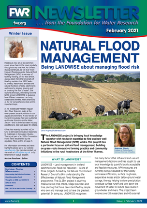 Latest Issue of the FWR Newsletter